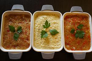 Salata de vinete cu rosii coapte la gratar, cu maioneza, sau cu ardei capia copt