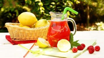 Limonada cu zmeura