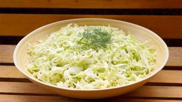 Salata de varza dulce, reteta simpla