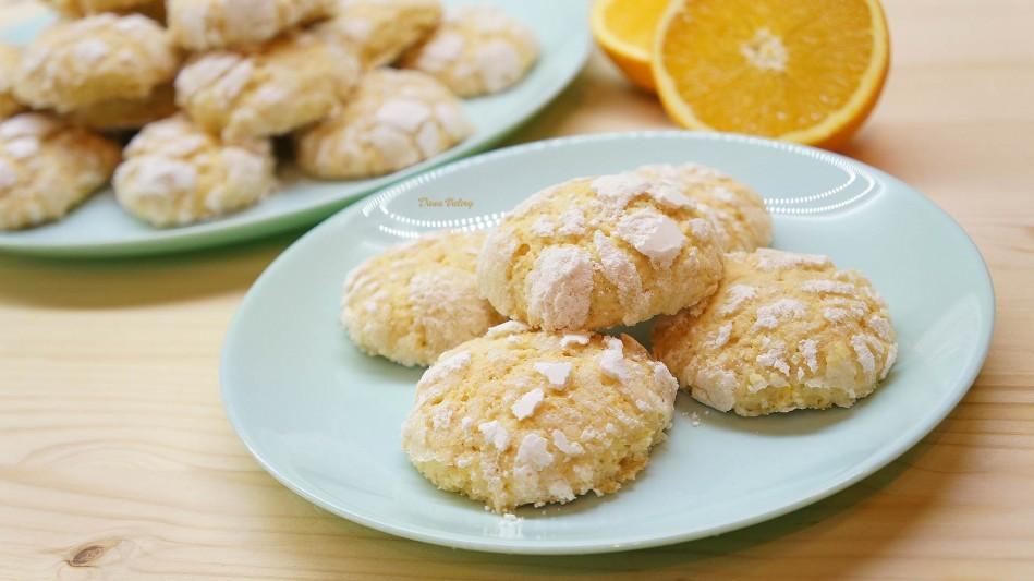 Fursecuri crapate cu portocale