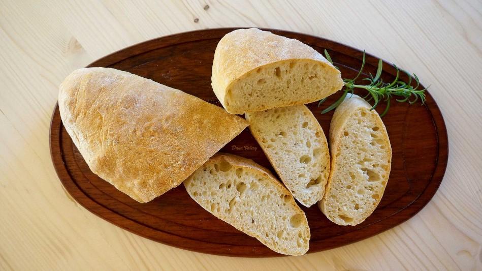 Paine Ciabatta, paine de casa